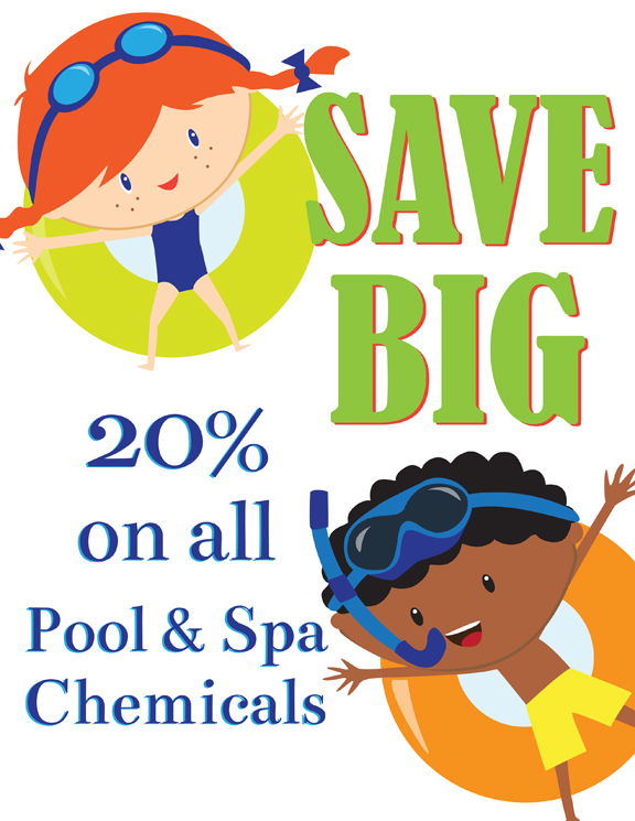 save big on chemicals