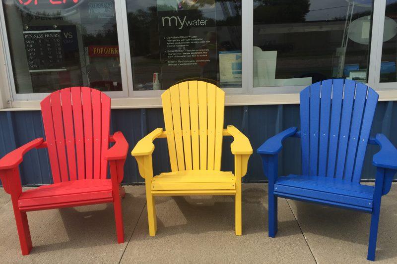 New Adirondack Chairs – $350