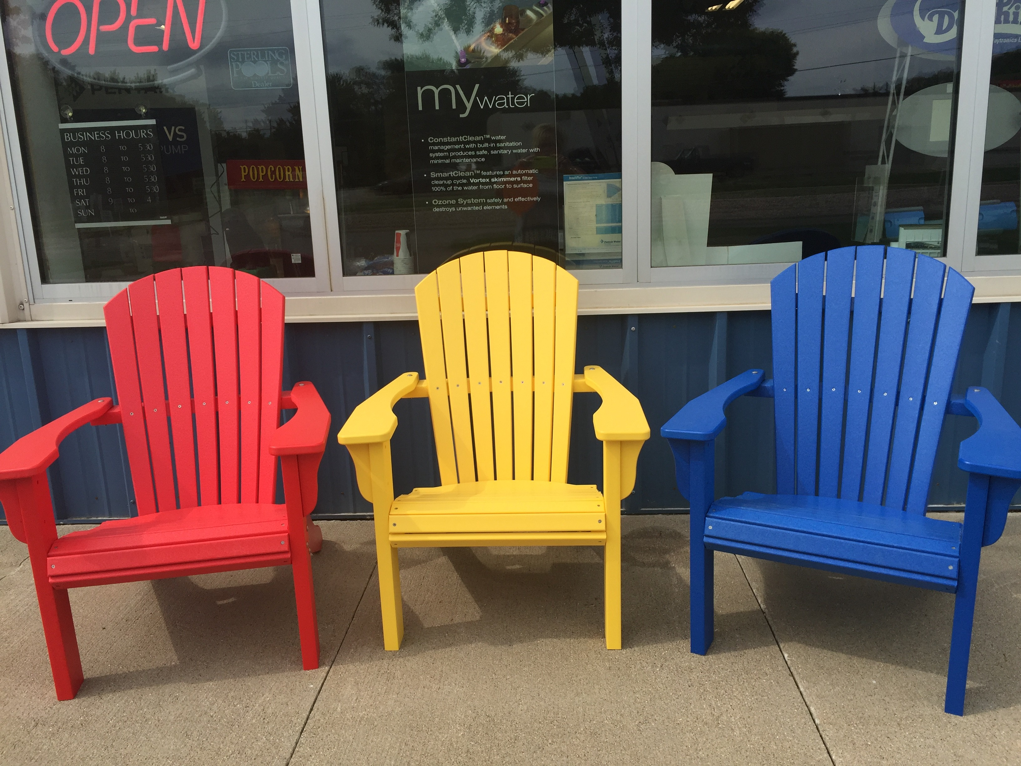 New Adirondack Chairs 350 Professional Pool Amp Spa