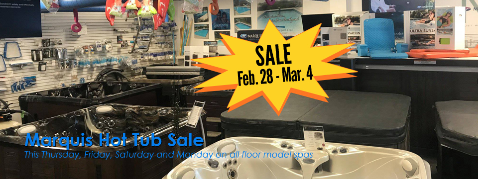 Hot Tub Sale!!!